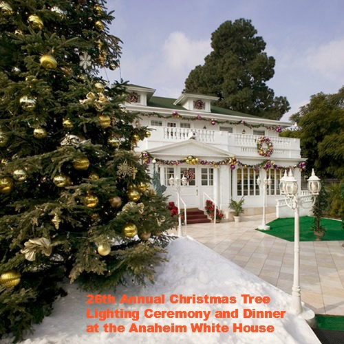Mediterranean Mansion In Orange County With Awesome: 26th Annual Christmas Tree Lighting Ceremony And Dinner At