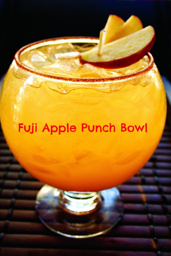 Fuji Apple Punch Bowl Recipe Eat Drink Oc