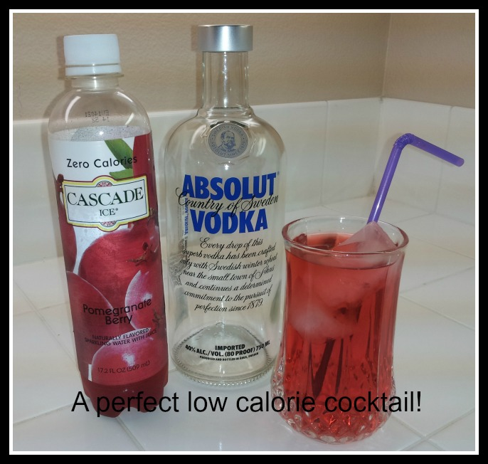 Cascade ice is refreshing and has zero calories eatdrinkoc for Cocktail 0 calorie