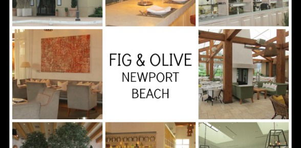 Fig & Olive's Weekend Riviera Buffet is delicious!