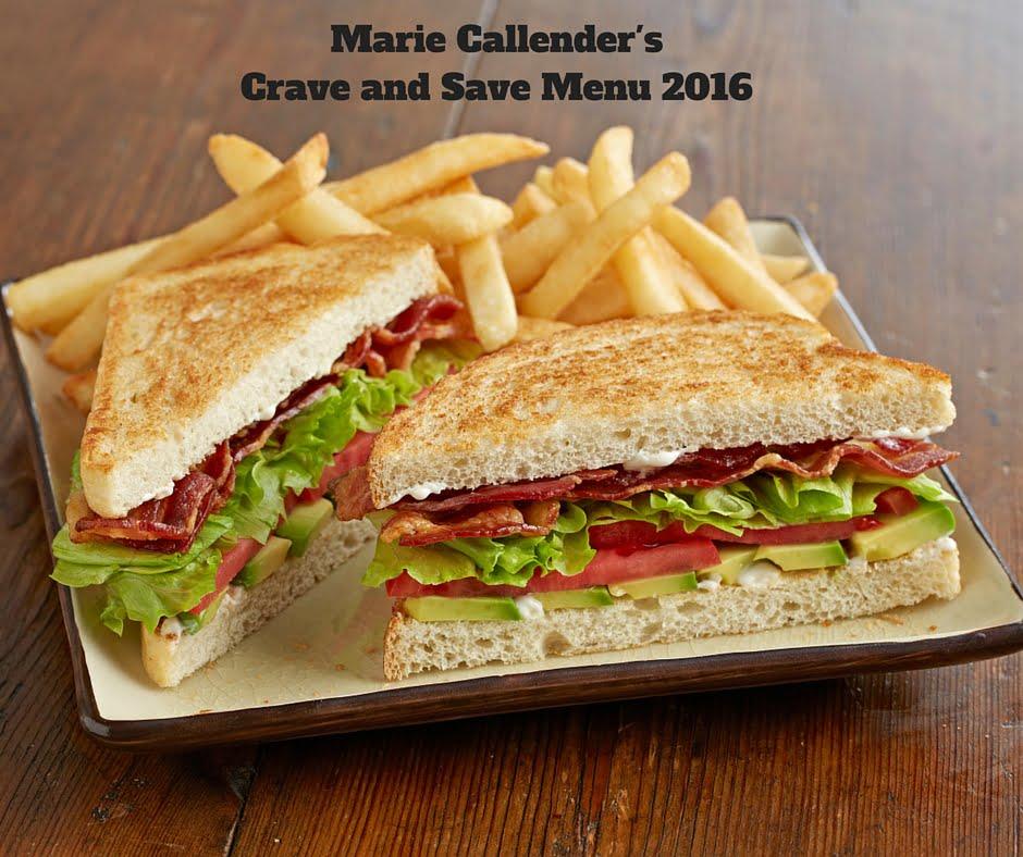 Crave Amp Save Menu At Marie Callender S