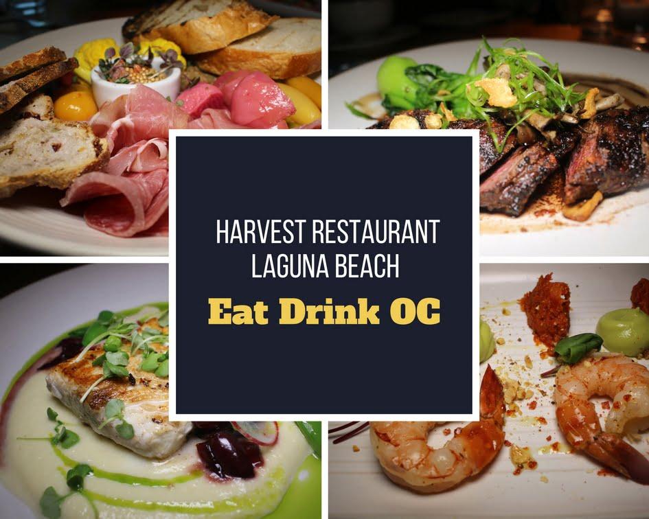 Harvest Restaurant Laguna Beach